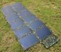72 W CIGS Thin-film Do Painel Solar de Alta Eficiência de Células Solares À Prova D' Água Dobrável e Portátil Carregador Solar para Smartphones PC