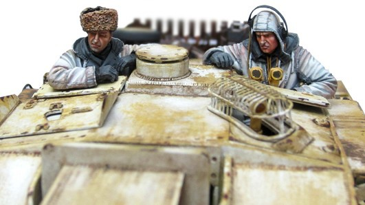 1:35       World War II German Tank Crews Winter  (2 Figures)