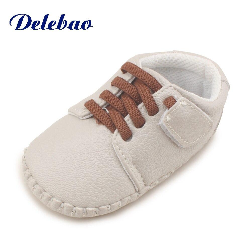 De nieuwe mode ondiepe patchwork rubberen baby schoenen voor 0-2 jaar - Baby schoentjes - Foto 4