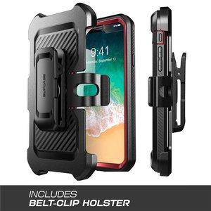 Image 5 - Pokrowiec na iPhone Xs Max Case 6.5 cala SUPCASE UB Pro wytrzymały futerał na kaburę z wbudowanym ochraniaczem ekranu i podstawką