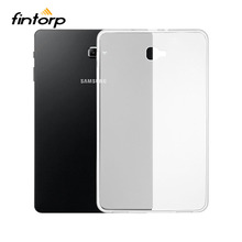 Buy Ultra-thin Waterproof Transparent Case For Samsung Galaxy Tab A 10.1 A6 2016 T580 SM-T580 T580N T585 T585C Soft TPU Clear Cover directly from merchant!