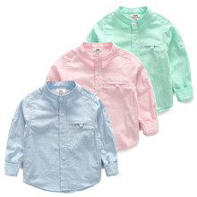 tx-4532 Kids boys spring 2017 Original Pure Spring baby child cotton long-sleeved shirt