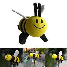 Car Interior Accessories Cute Mini Cute Lovely Bee Antenna Topper For Car Decoration Ornaments 1PC Hot Sale