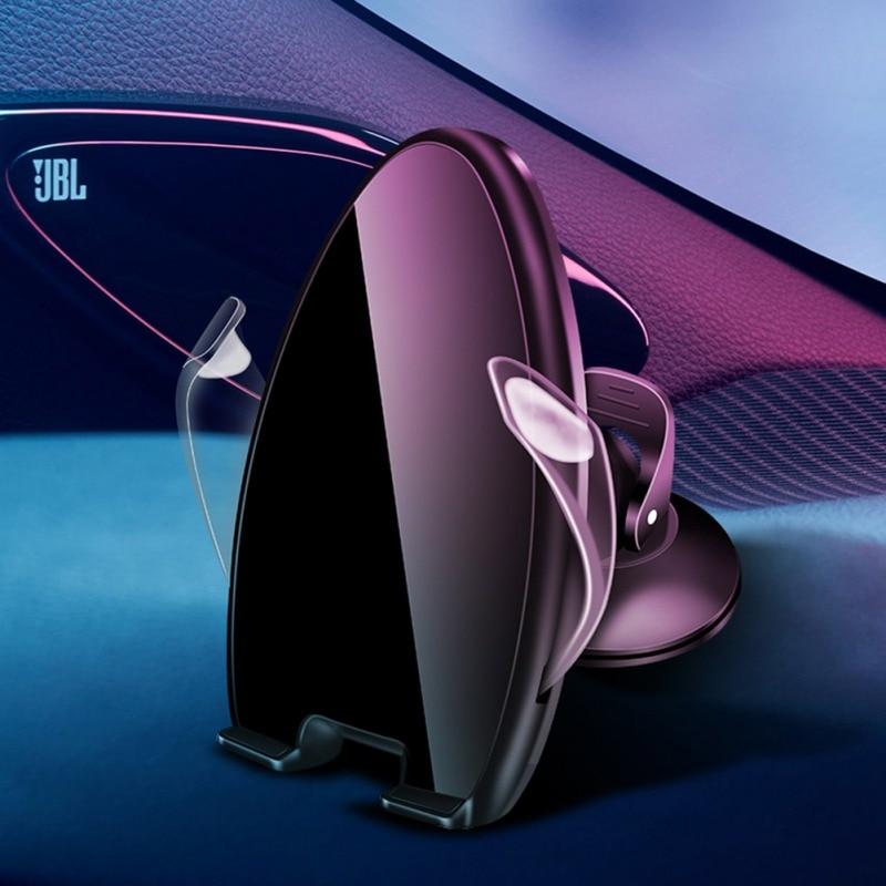 Support de téléphone magnétique universel pour iPhone Huawei P30 Samsung support pour voiture support pour voiture pare-brise support de tableau de bord avec berceau