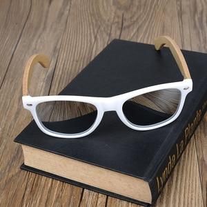 Image 5 - BOBO BIRD Handmade Sunglasses Women 2020 New Fashion Bamboo Legs Eyewears Colorful Polarized Lens Glasses oculos de sol feminino