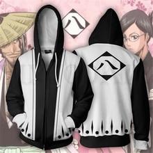 Blazblue Sweatshirts Men and Women Zipper Hoodies Anime Ichigo Ten 3d Print Hooded Jacket for Boys Heatblast Harajuku Streetwear