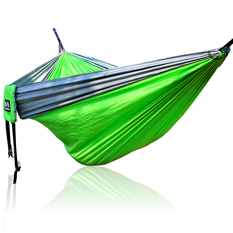 328 Promotion Double Hammock With Space Saving Steel Stand