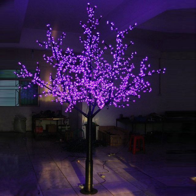 2.5Meters 1536 led christmas landscape lighting christmas decorations for garden with Europe/North America