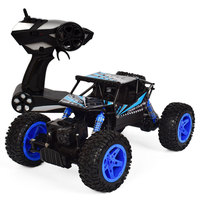 Russia Shipping RC Car 2.4G 4CH 4WD Rechargeable 2 Motor Drive Remote Control 1:18 Car Model Off Road Racing Vehicle Toy S7JN