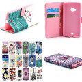 YH Fashion Flip Wallet PU Leather Case with Card holder Stand case for Microsoft  Nokia Lumia N535 535 phone case Cover