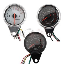 Car-styling Racing Motorcycle 12V LED Digital Backlight Tachometer Backlight Tachometer Tacho Gauge Speedometer Speed Control for honda cbr400 nc29 speedometer tachometer tacho gauge instruments motorcycle parts