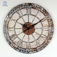 Home Decorative Wall Clock Modern Design Mute Large Watches Shabby Chic Bedroom Decor Living Room Wall Clocks