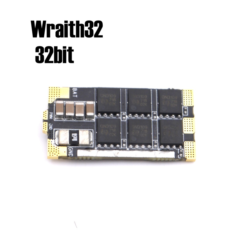 1 Piece Wraith32 - 32bit BLHELI ESC For Professional Player And RC Helicopter Quadcopter Multirotors omnibus aio f7 v2 flight controller board and 4 pieces wraith32 32bit blheli esc for fpv quadcopter drone frame