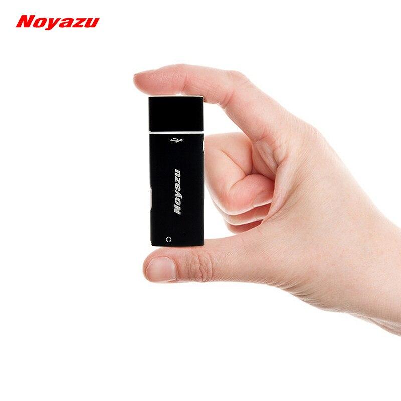 NOYAZU V17 Plus Petit Professionnel 8 gb Mini Enregistreur Vocal MP3 Lecteur Dictaphone USB Numérique Audio Voix Activé Enregistreur VOR