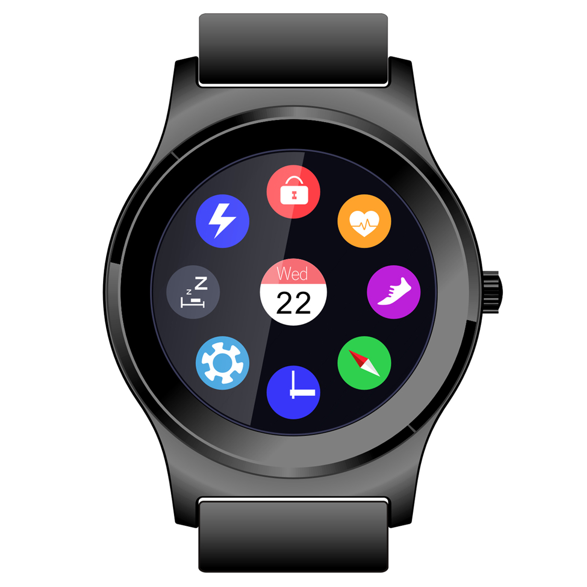 NeeCoo V3 Bluetooth Smart Watch Heart Rate Monitor Smart Watch With Pedometer Facebook Notification Wristband For Andriod/IOS цена
