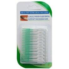 Шов больно зубочистка десен между чистить щеткой зубы массаж шт./упак. мягкой