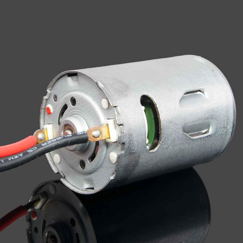540 Électrique Brossé Moteur 1000-22000 RPM tension 6-12 v charge Vide 40 W Approprié pour RC voiture 1/10 03011 HSP 94107 94111
