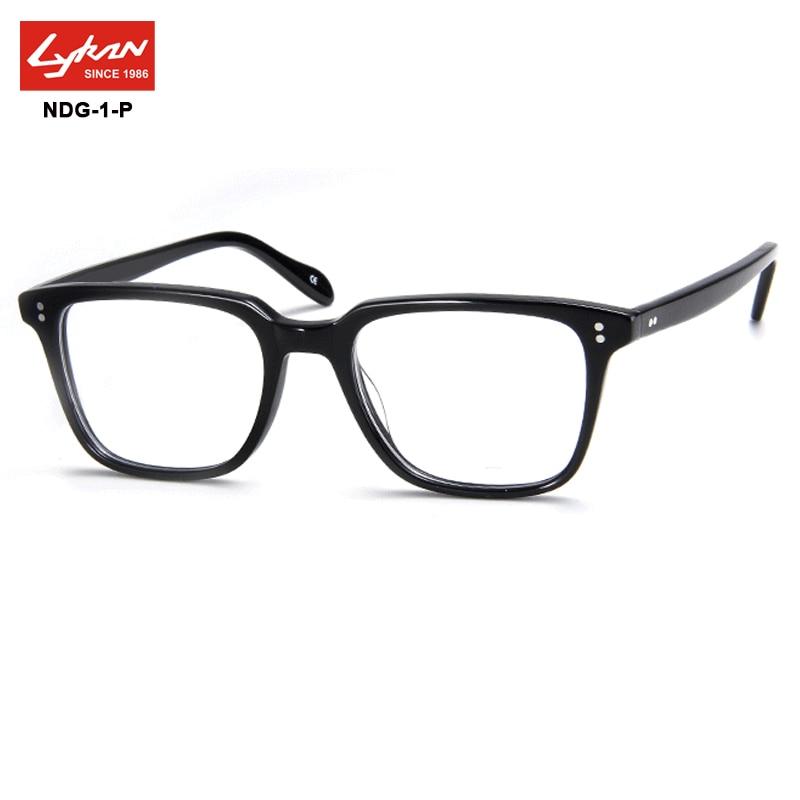 Vintage Eyewear Eyeglasses Square Acetate Glasses Frame Men Women ...