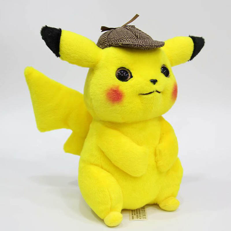 Detective Pikachu Plush Toy High Quality Cute Anime Plush Toys