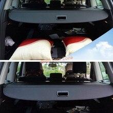 1 Компл. Черный Холст Внутренний Задний Загрузки Багажника Щит Крышка Багажника Для Audi Q7 2007-2015/2016-2017