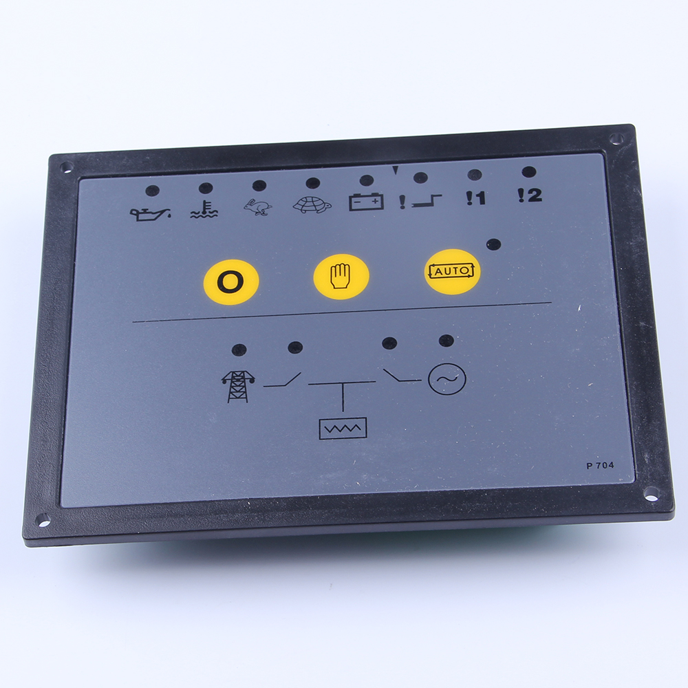 genset controller model 704 generator monitor unit electronic programmer panel board genset parts circuit charge controller free shipping genset controller 704 generator control unit 704