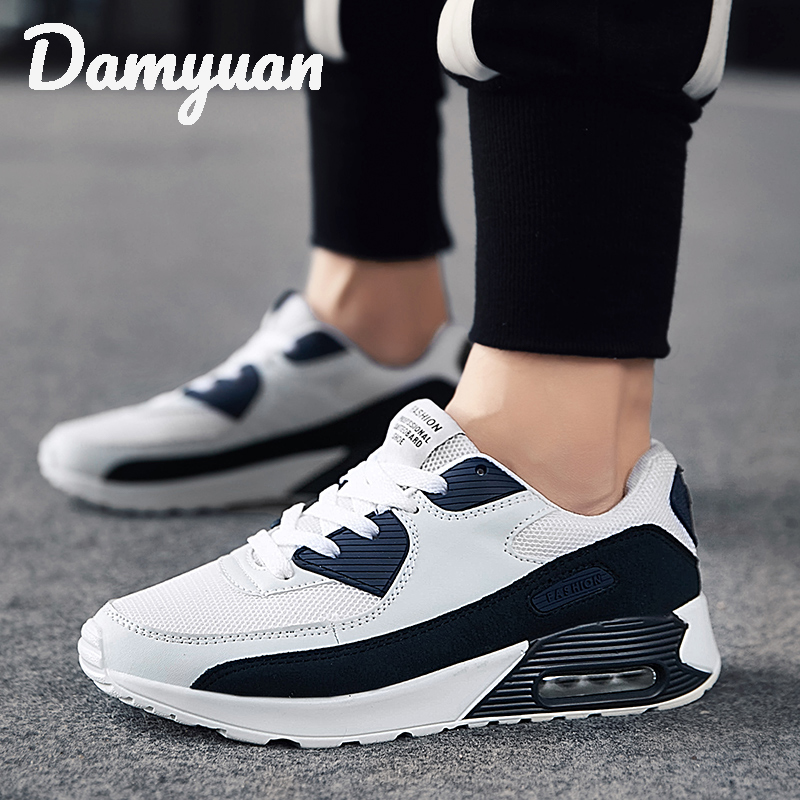 Damyuan 2019 New Fashion Classic Shoes Men Shoes Women Flyweather Comfortables Breathable Non-leather Casual Lightweight Shoes