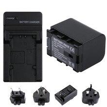 2670MAH BN VG121 Battery + Charger for JVC VG108U VG107U VG114U  VG138U VG138 VG107E VG121E VG114E VG121 VG114 VG108E BNVG114 4pcs 2670mah bn vg121 vg121u vg121us batteries charger kits for jvc everio gz e series bn vg138 bn vg107u bn vg114 camcorders