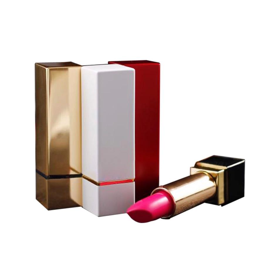 50 пачкаў 4g пустых алюмініевага 12.1mm губа палка трубка квадратнай формы, губная помада пакавальнага кантэйнера, губная памада бутэлька