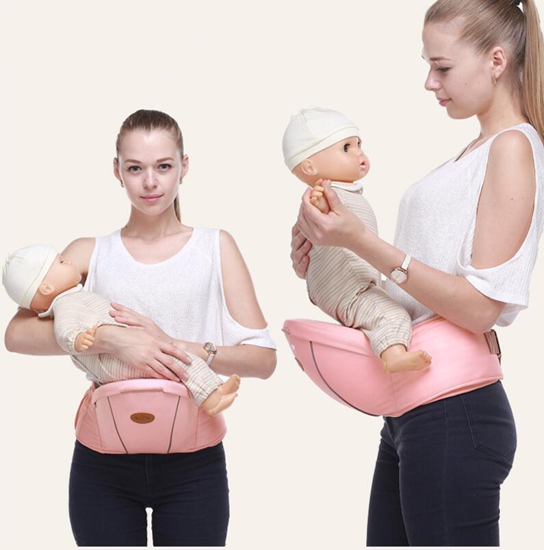 Hipseat Childs Carrying for Children Baby Hipseat Waist Stool Portable Front Facing Ergonomic Baby Hip Seat Carrier