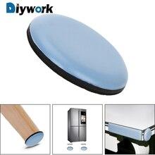 DIYWORK 1 предмет мебель перемещение слайд инструмент набор стол угол авария коврик стол нога протектор легко перемещение тяжелый мебель слайдер