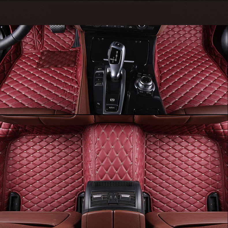 Auto Floor Mats For Lexus Lx570 2016 2017 Foot Carpets Car Step Mats High Quality Brand New