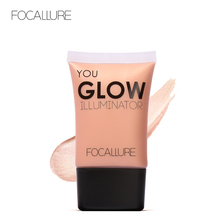 FOCALLURE liquid Highlighter Makeup Bronzers 4 colors  illuminator Face Brightener Contouring Shimmer Glow Cosmetics rorec bronzers