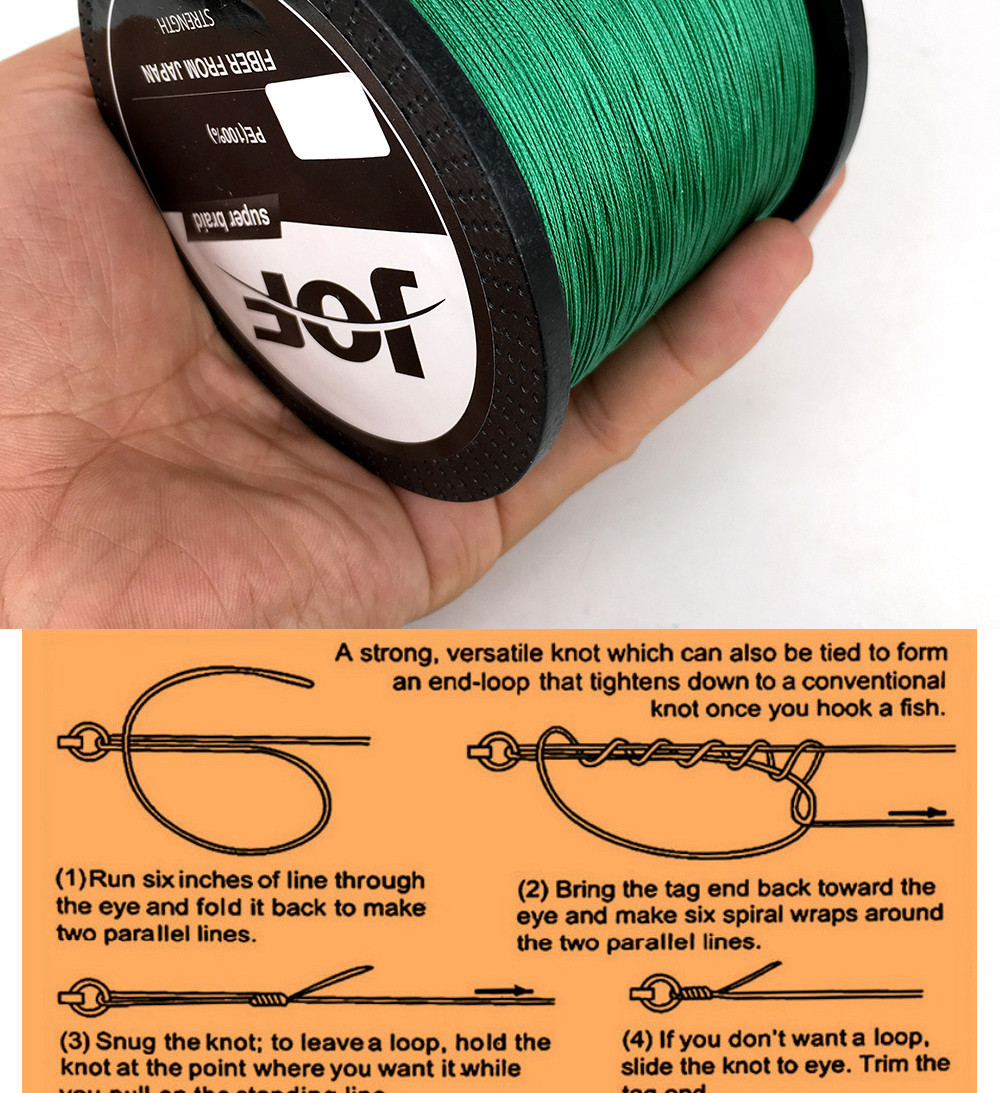 1000M Multifilament Fishing Line 100% PE Braided 4 threads fly fishing line for carping fishing  30 40 50 60 80 100lb 13
