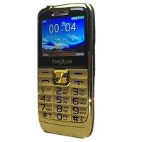 2 2 Original TKEXUN E71 Mobile Phone Dual SIM Card FM Radio Big Keyboard Unlocked Flashlight