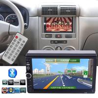 Car MP5 Player 7 Inches 2 Din Touch Screen Car Bluetooth Support FM USB TF Card