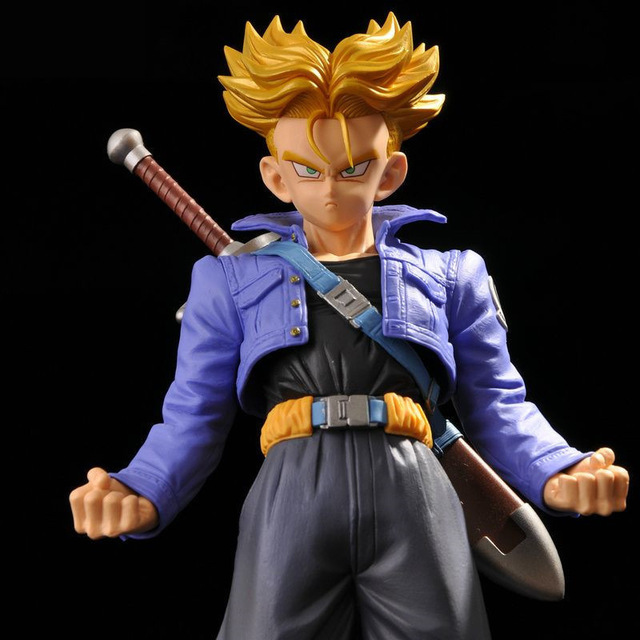 Anime Dragon Ball Z Master Stars Piese The Super Saiyan Trunks PVC Action Figure Collect ...