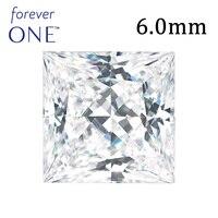 STARYEE Original Charles Colvard Forever One 1 Carat VS D Color Princess Cut Moissanite Stone Beads