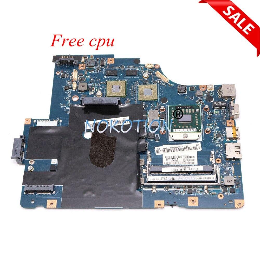 NOKOTION LA-5754P carte mère d'ordinateur portable pour Lenovo G565 Z565 carte principale ATI HD5340 DDR3 cpu gratuit entièrement testé