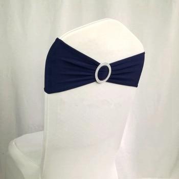 navy decor/ chair wedding/wedding chair sashes 100 pcs