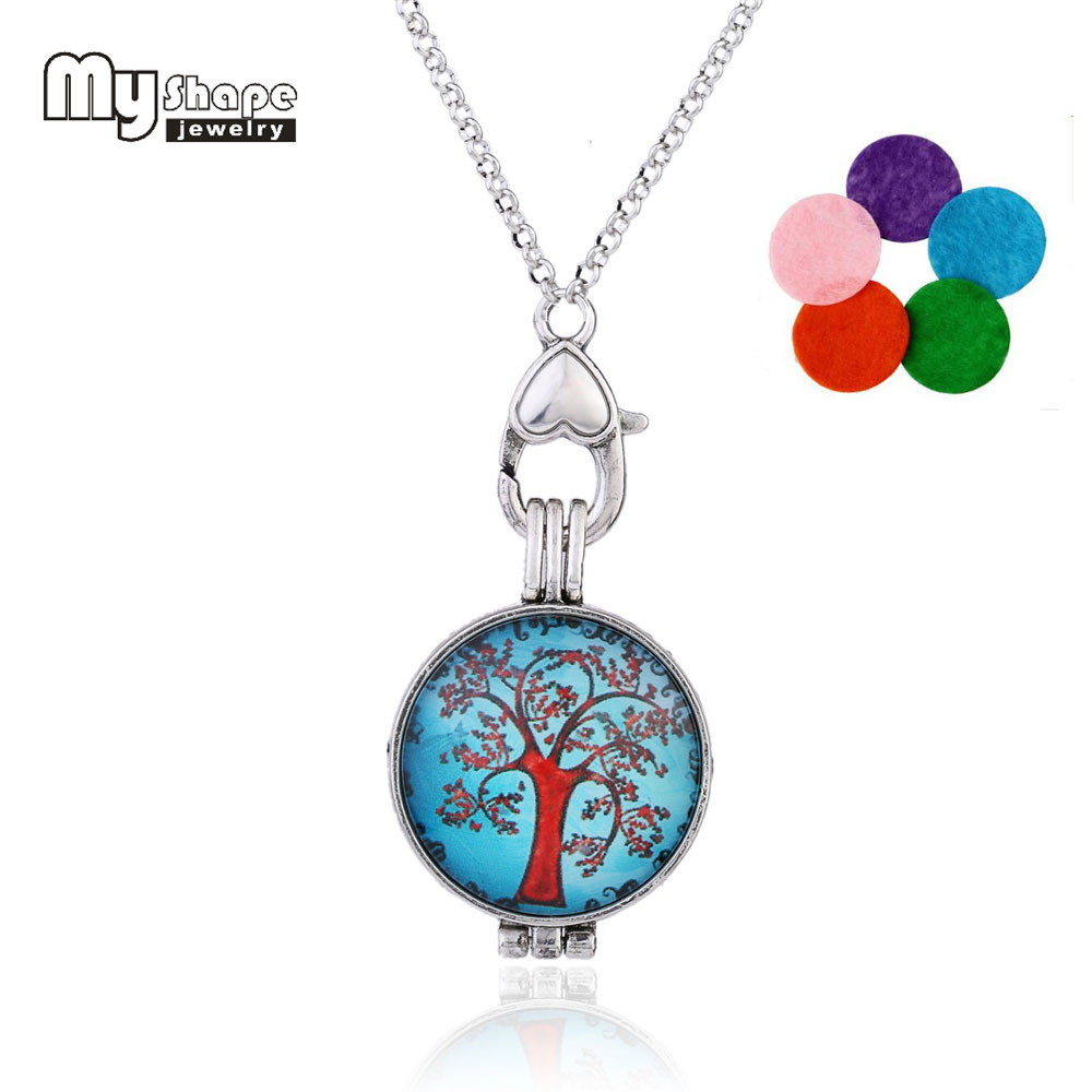 my shape Essential Oil Aromatherapy Diffuser Necklace Beautiful