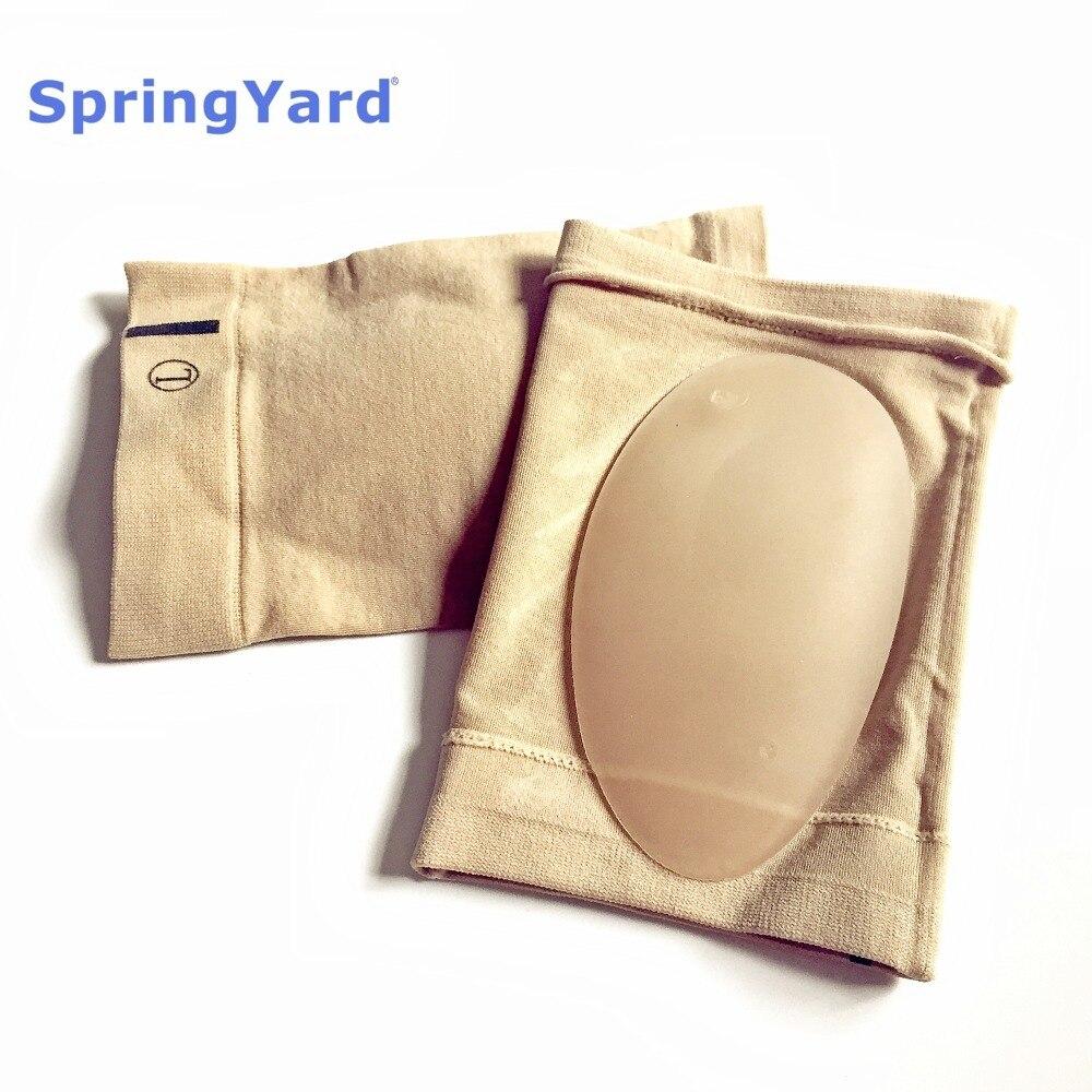 SpringYard Gel Plantar Fasciitis Arch Support Sleeve Insoles Heel Spur Cushion Flat Foot Orthopedic Pad For Shoe Men Women