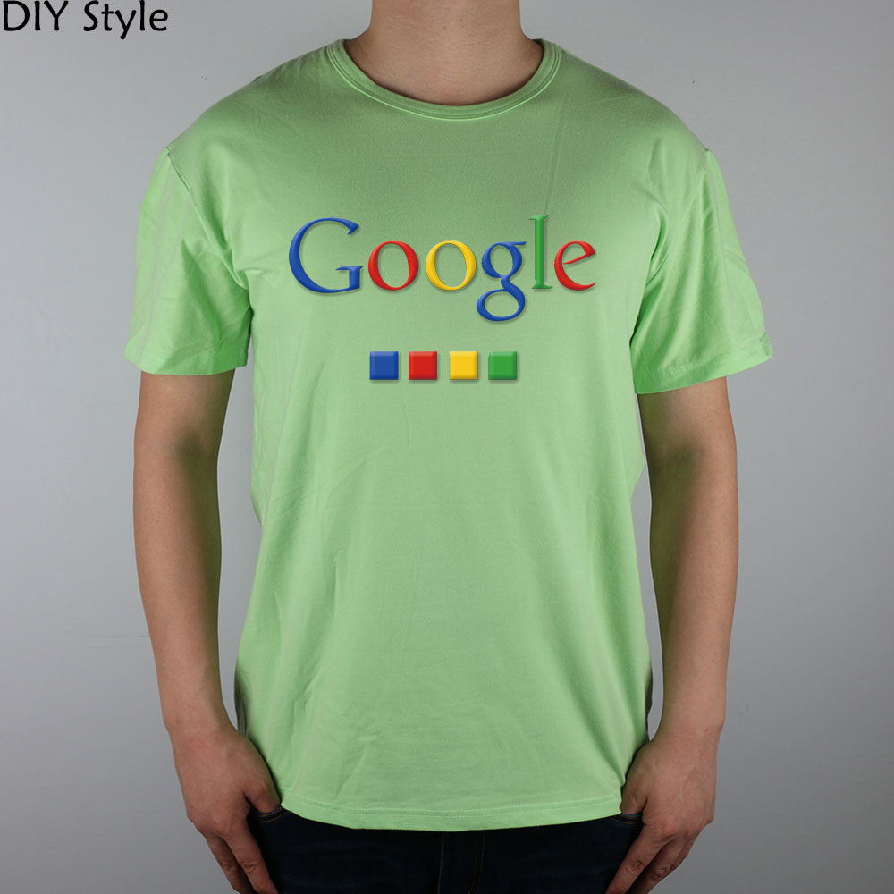 Four-color Google T-shirt cotton Lycra top 4586 Fashion Brand t shirt men new DIY Style high quality 3