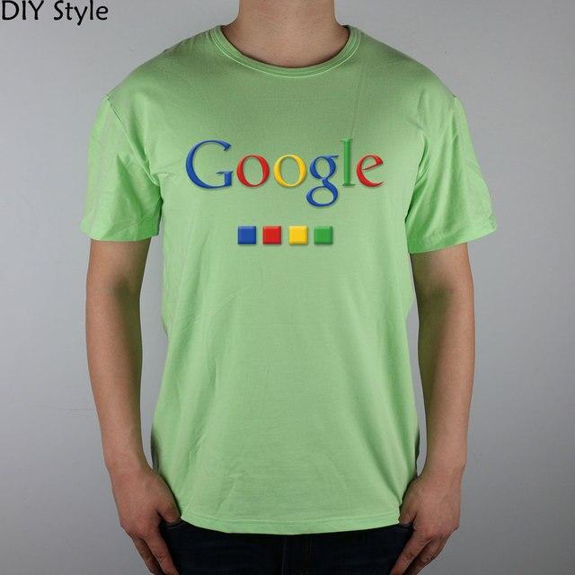 Four-color Google T-shirt cotton Lycra top 4586 Fashion Brand t shirt men new DIY Style high quality 3