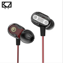 KZ ZSE Newest Version Dynamic Dual Driver In Ear Earphones Audio Monitors HiFi Sports Earbuds Bass Noise Isolating Earphones