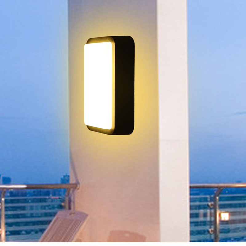 Ceiling Lamp Sconce Modern Simple Villa foco led exterior Courtyard Corridor Balcony light Outdoor Wall Lighting wall fixtures outdoor small column courtyard wall lamp post villa exterior wall lamp lu8141400