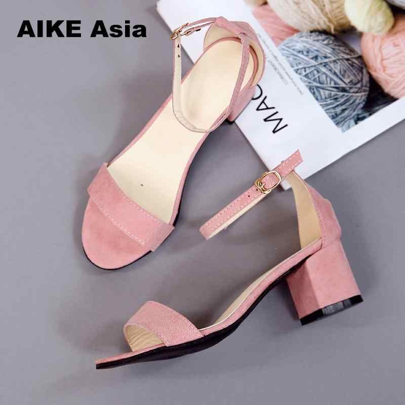 Sıcak yaz kadın ayakkabı pompaları elbise yüksek topuklu ayakkabı tekne ayakkabı düğün ayakkabı Tenis Feminino ile Peep Toe sandalet rahat 997