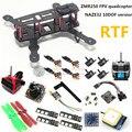 DIY mini drone FPV quadcopter RTF ZMR250 NAZE32 10DOF + 2204II 2300KV motor + control remoto + 700TVL AT9 cámara + 6 m GPS