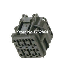 где купить 16 pin Automotive Waterproof Connector Square Connector with Terminal DJ7161Y-2-21 16P дешево
