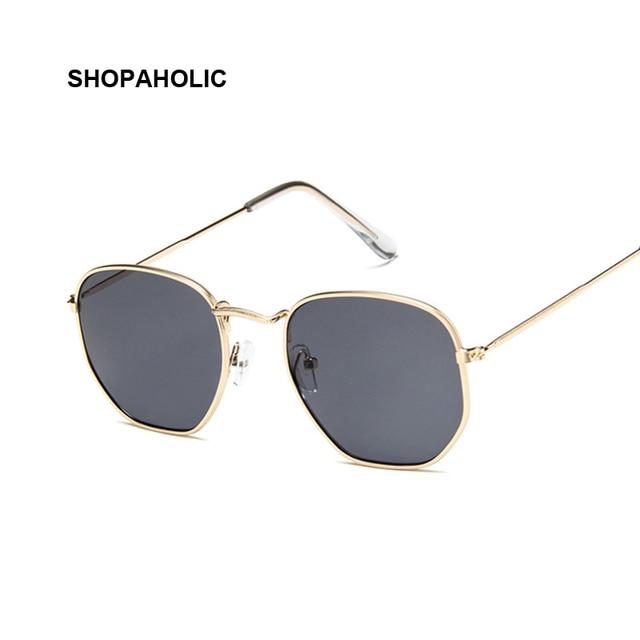 2019 Retro Round Sunglasses Women Brand Designer Sun Glasses for Women Alloy Mirror Sunglasses Ray Female Oculos De Sol 2