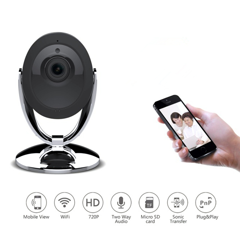 720P HD Wireless Wifi IP Camera Home Security Camera Onvif P2P IR-Cut Night Vision 2-Way Audio CCTV Indoor Camera Baby Monitor